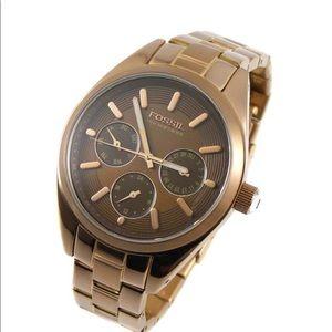 Fossil Rose Gold Watch- bq9339